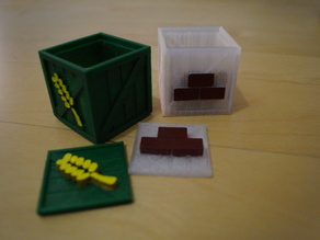 Boxes for agricola game