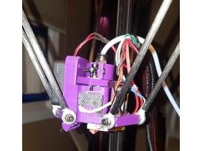 FLSun Effector with built in fan adapter