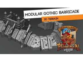 Gothic Barricade set