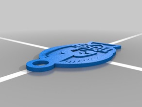 Halo UNSC Key Chain