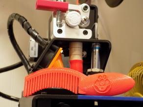 3D printed Elmo comb