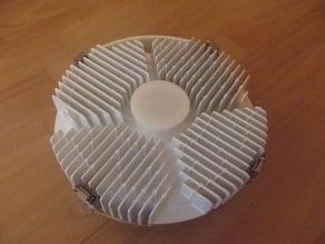 Microwave Networks Proteus 35 GHz ODU Cap Antenna