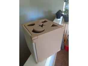 Baby shape sorter box
