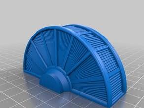 Warhammer 40K terrain: turbine