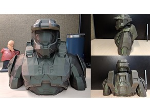 Halo Master Chief Bust and Figure
