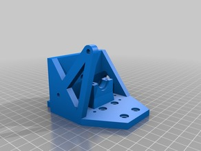 Anet_A8_E3D_V6_Direct_Mount remix for Prusa i3 x axis belt holder
