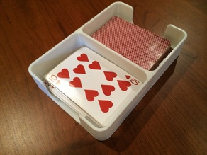 Playing Card Draw/Discard holding tray