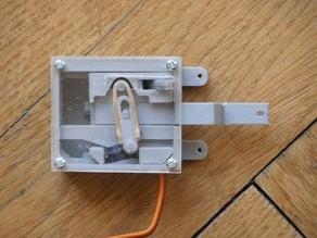 Weichenantrieb (aufschneidbar) für Spur 1 und 2 (LGB, 45mm)