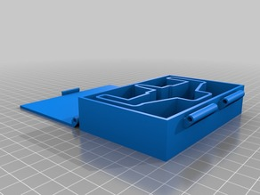 ARC-170 Container for X-Wing Minatures Game