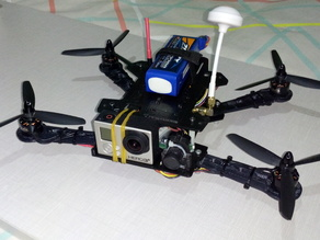 Mini spider quadcopter PD2015