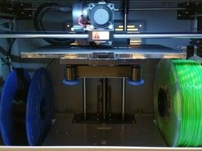Dremel 3D filament spool holder for 123-3D housebrand spools
