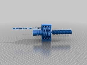 Multi-Input Screw Drive