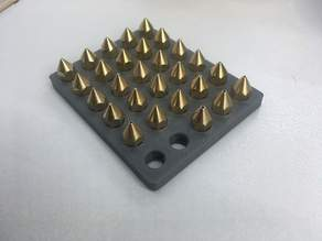 Extruder Nozzle Tip Threaded Storage tray (Yes, another one)