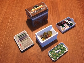 Dungeon roll dice game box inserts