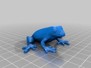 Low Poly Frog