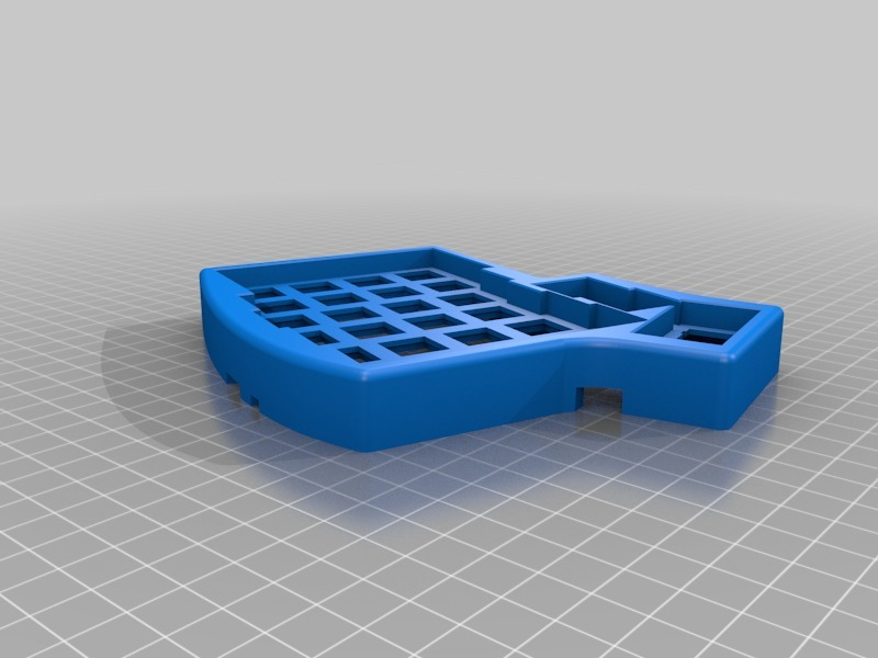Iris Keyboard Case (v2) by holtenc - Thingiverse