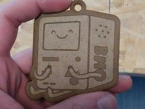 BMO Keychain Laser cut