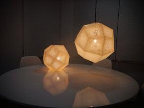 PrintShade 150 - Tom Dixon's Etch Shade inspired Lamp