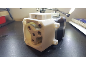 Single Peristaltic Pump for NEMA 17 Stepper Through Hole 4 Point Mount