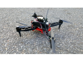 280 mm Quadcopter with GPS, FPV with onboard recording
