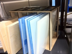 Material Storage Rack for Sheet