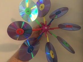 Big CD Windmill