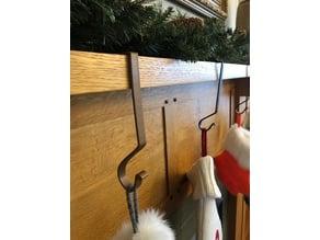 Fireplace Mantle Stocking Holder