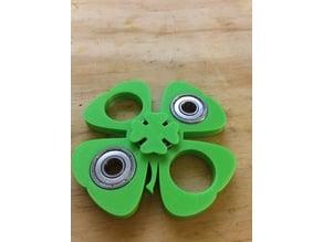 Four Leaf Clover Finger pads for fidget spinners