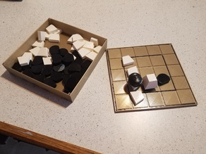 Tak - Two Sided Board and Pieces