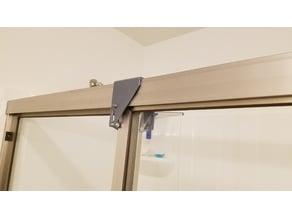 Shower Door Toddler Proofing