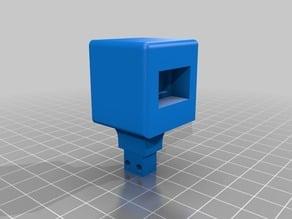 E3D v5 Clone FanMount & Material Cooler
