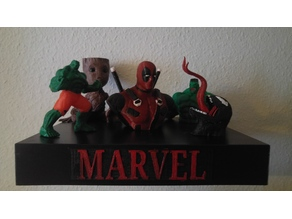 Marvel with Plate
