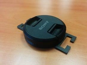 Lens cap holder for Sony NEX 49mm & 40.5mm