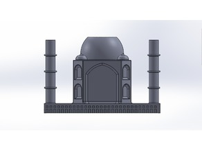 Taj Mahal Pencil Holder