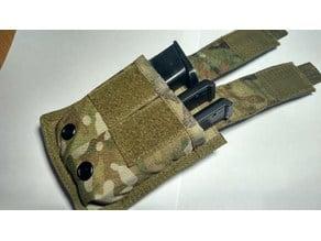 [Airsoft] CYMA CM030 (Glock 18C) pistol magazine pouch insert