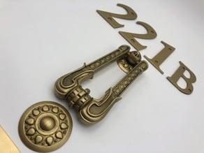 Sherlock Holmes 221B Door Kit