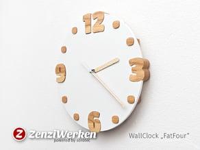 """WallClock """"FatFour"""" cnc"""