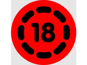 18 - movie age limit logo