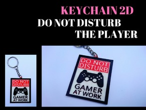 PLAYER KEYCHAIN