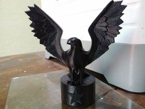 Eagle Statue on Flashforge Dreamer