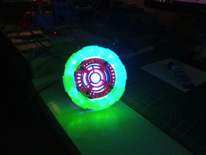 Iron Man Arc Reactor REMIX FOR NEOPIXEL