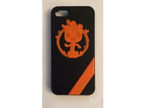Baby Groot iphone5 case