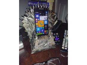 Game of Thrones - Iron Throne - Cell Phone Holder