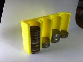 Taiwan Dollor Coin Collector 台幣硬幣整理盒