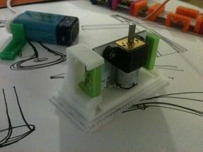 littleBits Vertical DC motor Mount