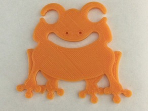 Frog Earbud / Headphone Holder
