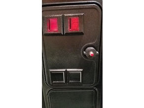 Arcade Coindoor Lock with Credit Button