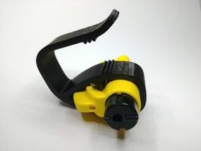 Visor mount for a ResQme glass breaker / seatbelt cutter