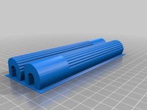 Z Brace Mod Covers for Duplicator i3 ,Wanhao, Monoprice Select, Cocoon Create...