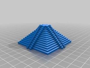 Mayan inspired pyramid 2
